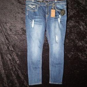 18277b6c357 Antique Rivet Jeans - Gorgeous Plus size Designer jeans  NWT